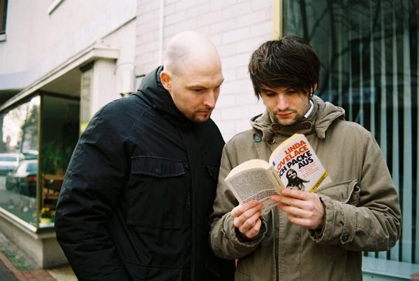 mit Sasa Stanisic für das U-Mag 4/2008 (Serien: Stadthagen)